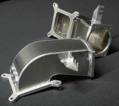 Lsx Sheet Metal Intake Aluminium Sheet Metal Intake